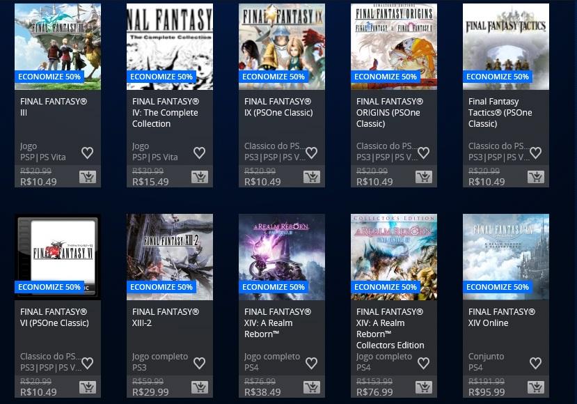 Square Enix promoção 2