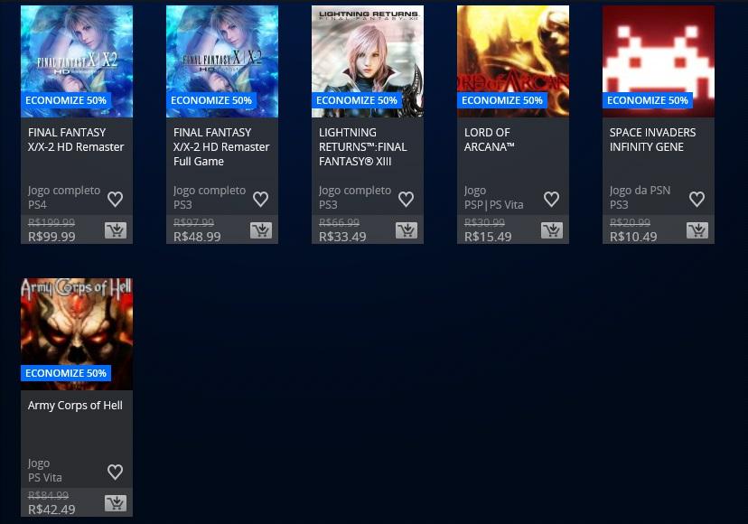 Square Enix promoção 3