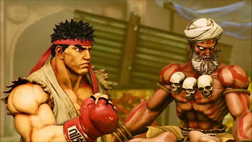 Street Fighter V - Modo História
