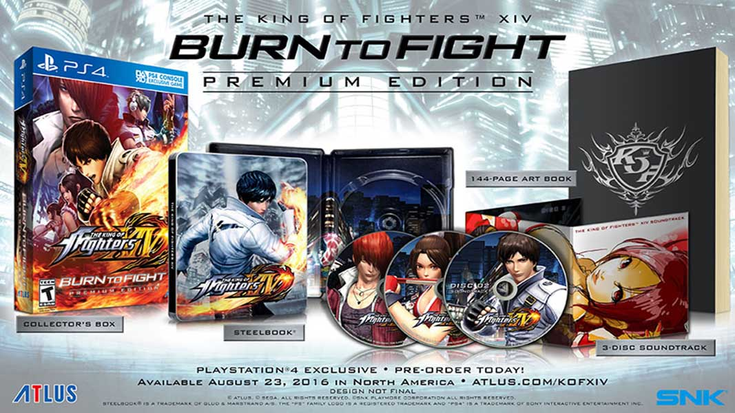 The King of Fighters XIV - Premium