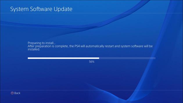 Update 3.55 PS4