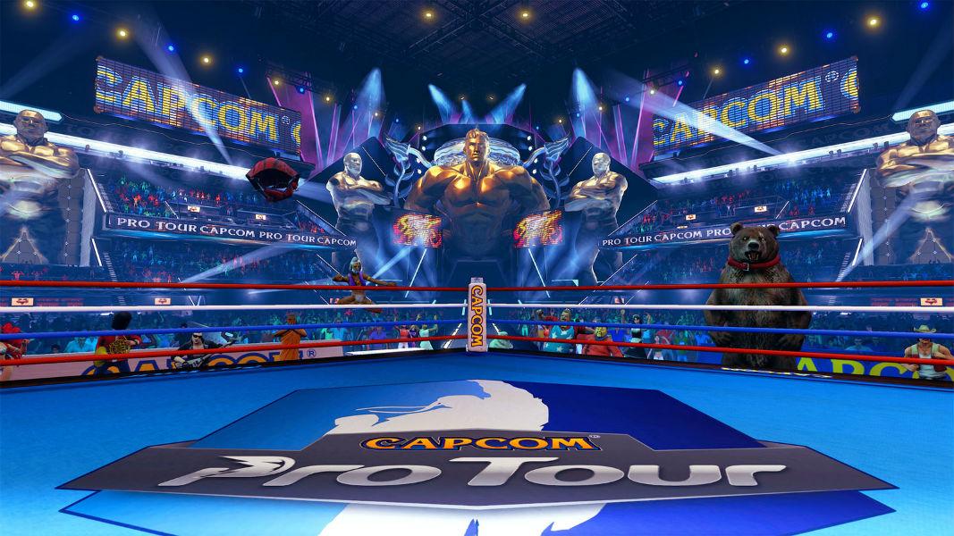 Capcom Pro Tour_cenário