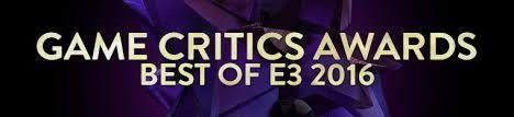 Game Critics Awards - E32016