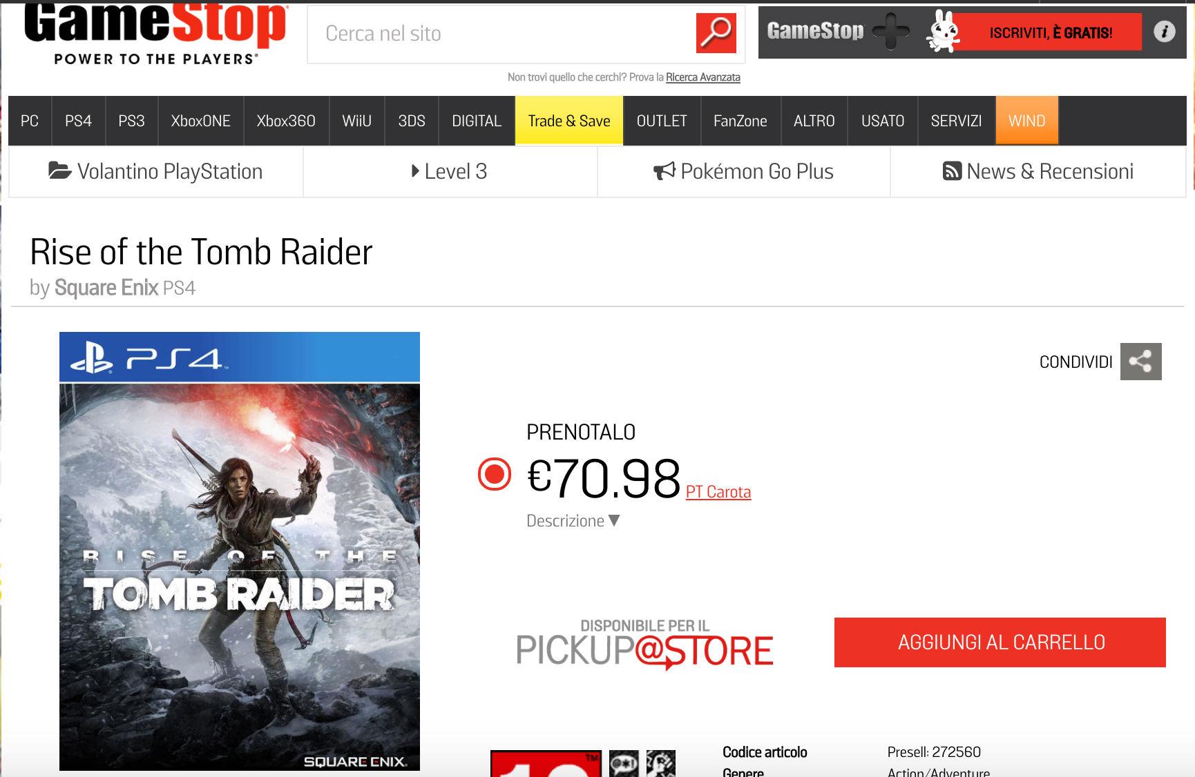 Tomb Raider_gamestop