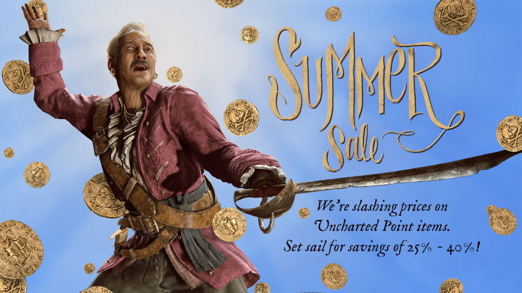 Uncharted Summer Sale