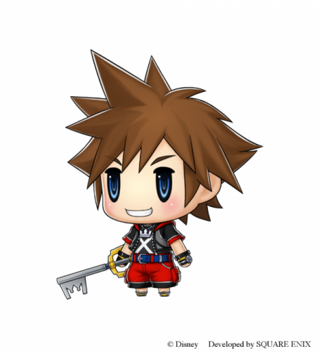 Sora em World Of Final Fantasy