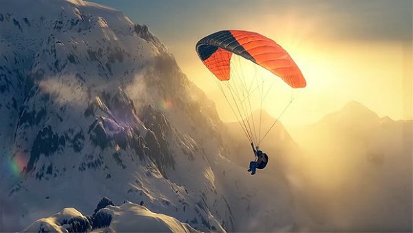 Steep - Paragliding