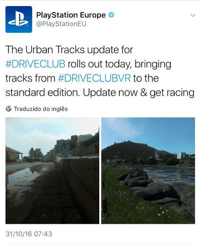 Driveclub - urban-tracks