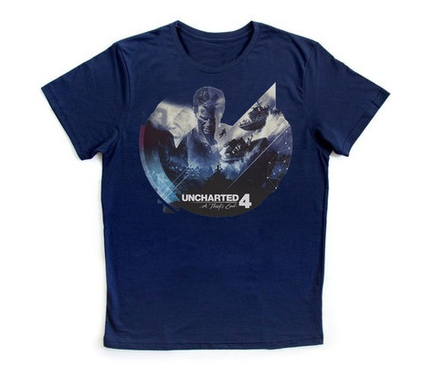 Camisetas - Uncharted