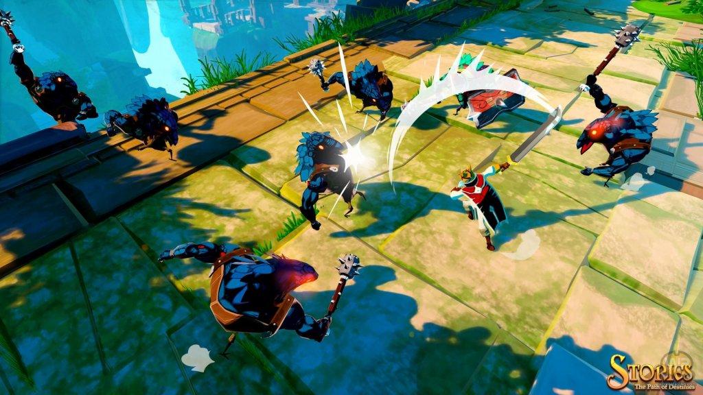 Um jogo vibrante, que exala vida em seus cenários